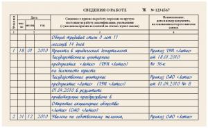 Дубликат трудовой книжки: порядок выдачи и заполнения